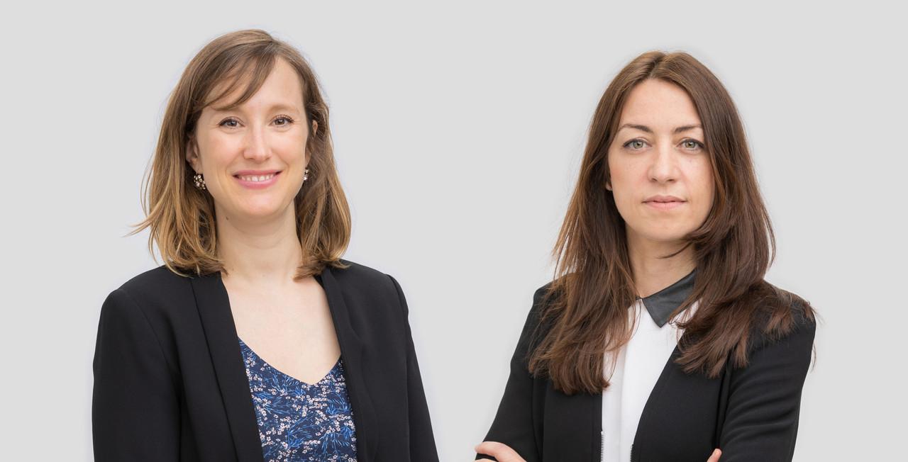 Claire Leonelli et Claire Denoual, Avocats à la Cour – Etude /c law (Crédit: /c law)