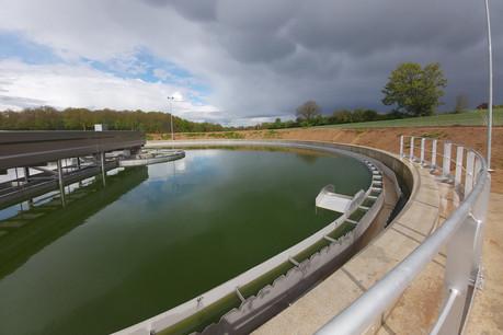 Le projet aura coûté 17,6millions d'euros et a été financé pour plus de 6,5millions par l'Europe. (Photo: Idelux Eau)