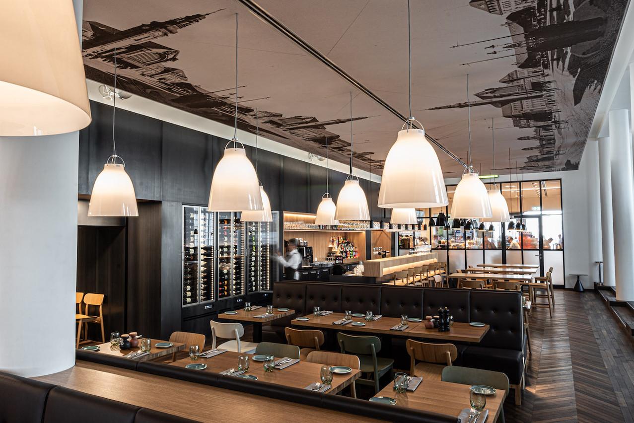 La grande salle de restaurant permet au Quai Steffen culmine à près de 150 couverts. (Photo: Quai Steffen)
