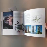 Vue des pages intérieures du livre «Une Ligne circulaire». ((Photo: Steinmetzdemeyer))
