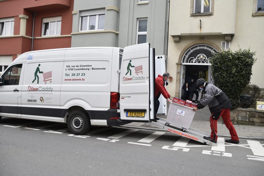 The Stëmm vun der Strooss creates jobs through food collection, processing and redistribution Photo: Stëmm vun der Strooss