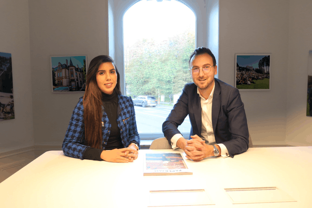 Hajar Haouzi (HR Manager) et Jérémy Mazon (Operations Leader) Positive Thinking Company
