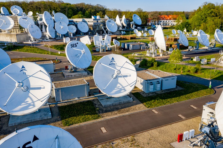 The satellite operator's headquarters in Betzdorf, Luxembourg Photo: SES