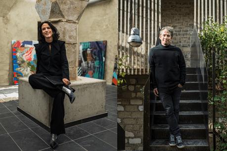 Séverine Zimmer &Steve Krack nous présentent un look all black. (Photo: Mike Zenari)