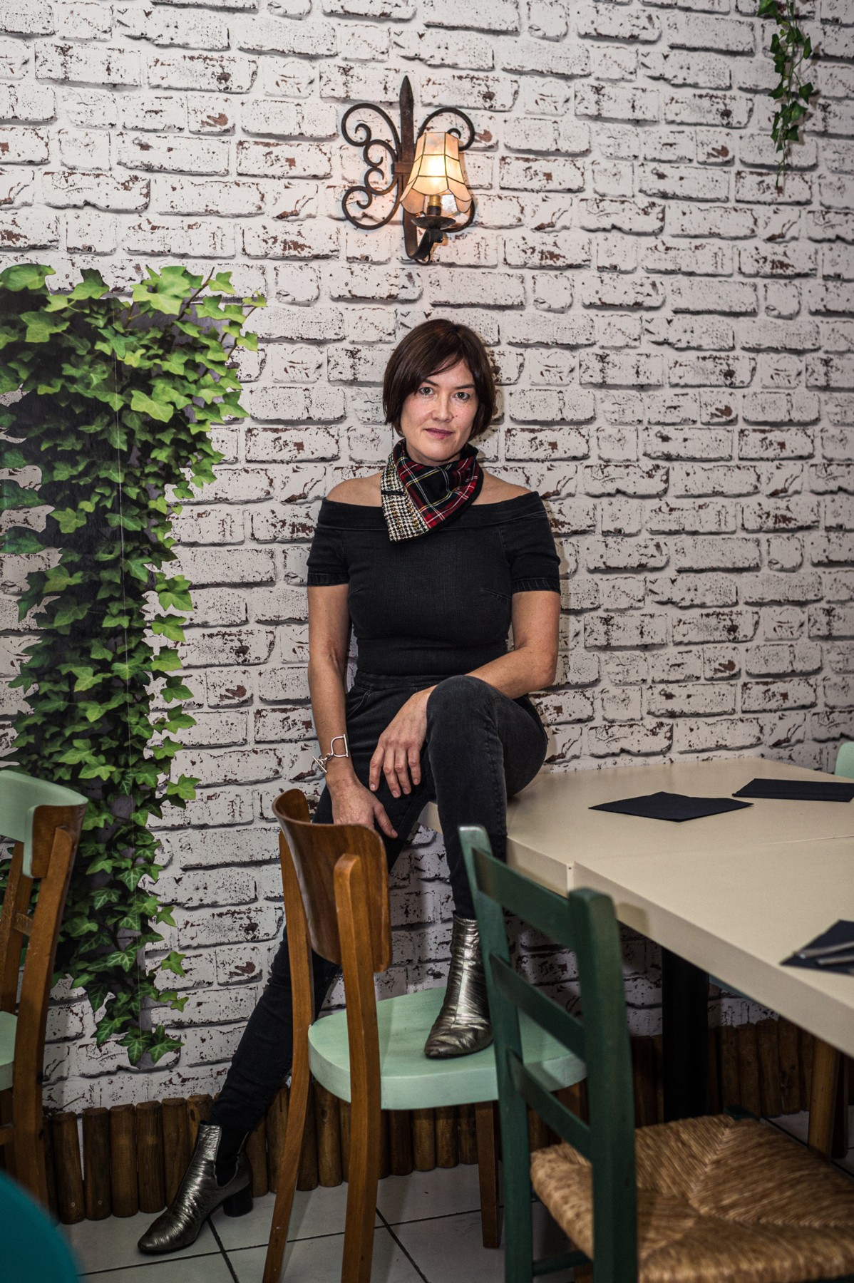 Frédérique Buck, conceptrice-rédactrice et réalisatrice. (Photo: Mike Zenari)