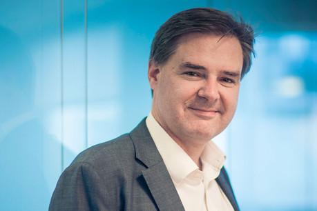 Jean-Marie de Crayencour, country manager Visa Belux, observe des progressions pour des activités liées au paiement électronique pendant la crise. (Photo: Visa)