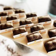 Pour leurs retrouvailles au Sofitel Le Grand Ducal, les pâtissiers du collectif Les Sucrés du Lux se sont amusés à créer une collection éphémère sur le thème «Gâteau de voyage». ((Photo: Anaïs Chabreuil))