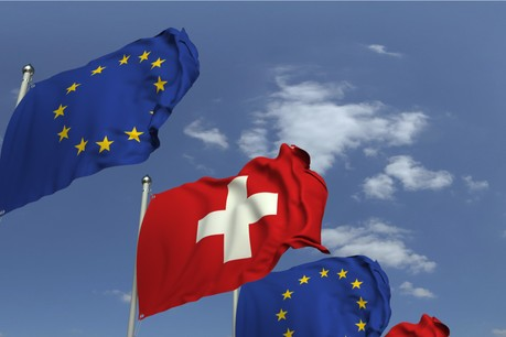 La Suisse a rompu les négociations autour d'un accord que la Commission jugeait pourtant «essentiel», en permettant une «modernisation» des relations entre la Suisse et l'UE et «une plus grande participation au marché unique» du pays. (Photo: Shutterstock)