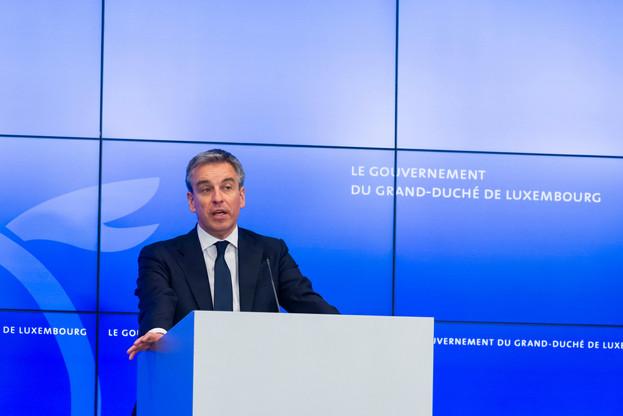 Claude Meisch, ministre de l'Éducation nationale, de l'Enfance et de la Jeunesse © SIP / Jean-Christophe Verhaegen, tous droits réservés