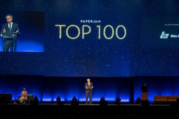 Le Paperjam Top100 est un événement de référence dans le monde des affaires au Luxembourg. (Photo: Jan Hanrion/ Archives Maison Moderne)