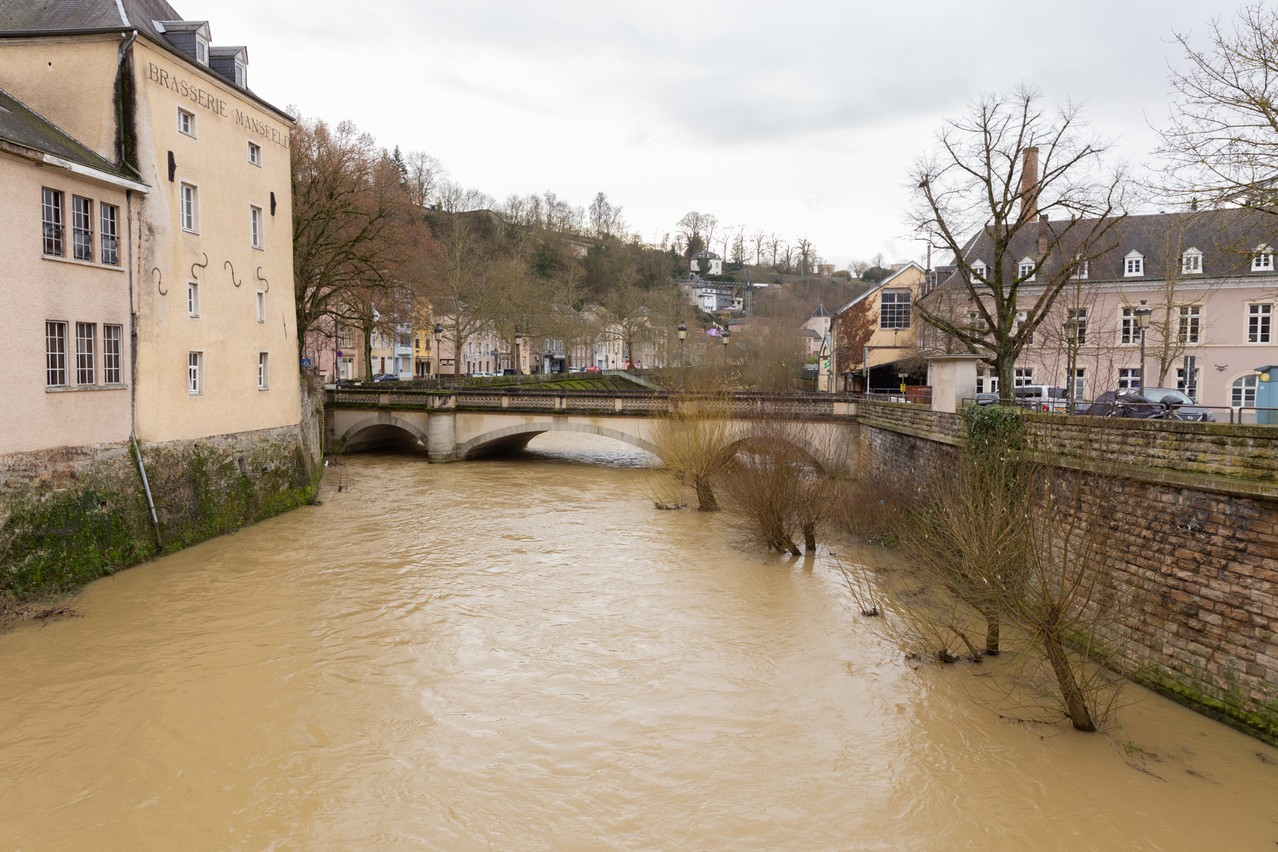 July was the wettest month experienced in Luxembourg since 1854, with an average rainfall surplus of 193mm. (Photo: Romain Gamba/Maison Moderne)