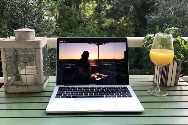 Mercredi, le DJ Andrew Martin a régalé ses abonnés avec un set d'une heure enivrant, à l'heure de l'apéritif. (Photo: Maison Moderne)