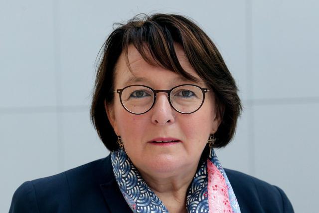 Martine Schommer, ambassadeur du Grand-Duché de Luxembourg en France, était face à une soixantaine de chefs d'entreprise et quelques élus membres du club Moselle Économie ce lundi soir à Metz. (Photo: Ministère des Affaires étrangères)