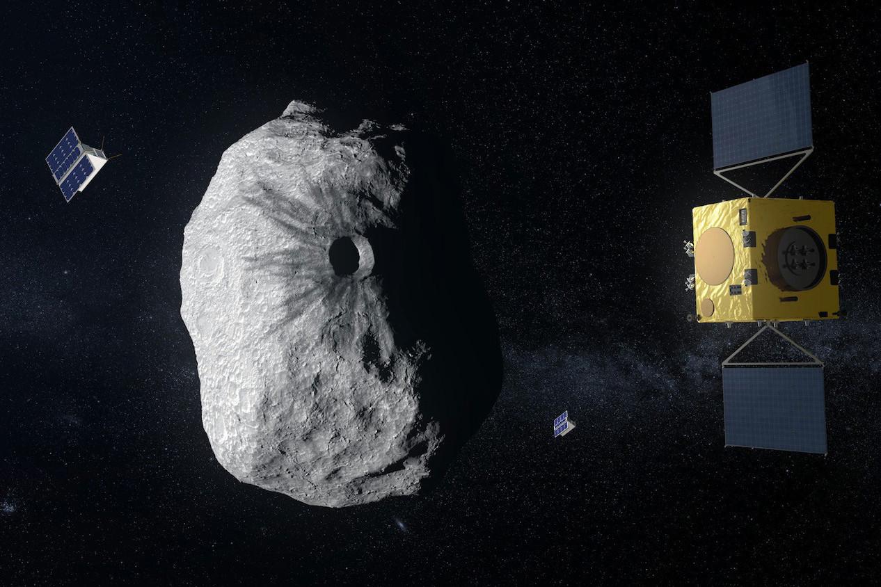 La mission Hera sera la participation européenne à un projet d'envergure mondiale, qui vise à éviter la collision d'un astéroïde avec la Terre. (Photo: ESA)