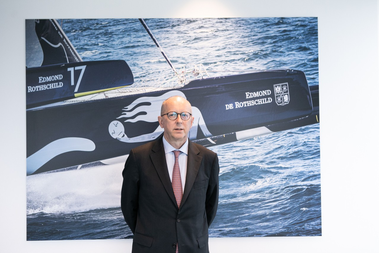 At the end of the Edmond de Rothschild Group's general meeting on 4 June, François Pauly was appointed CEO, replacing Vincent Taupin who retired. Matic Zorman/Maison Moderne