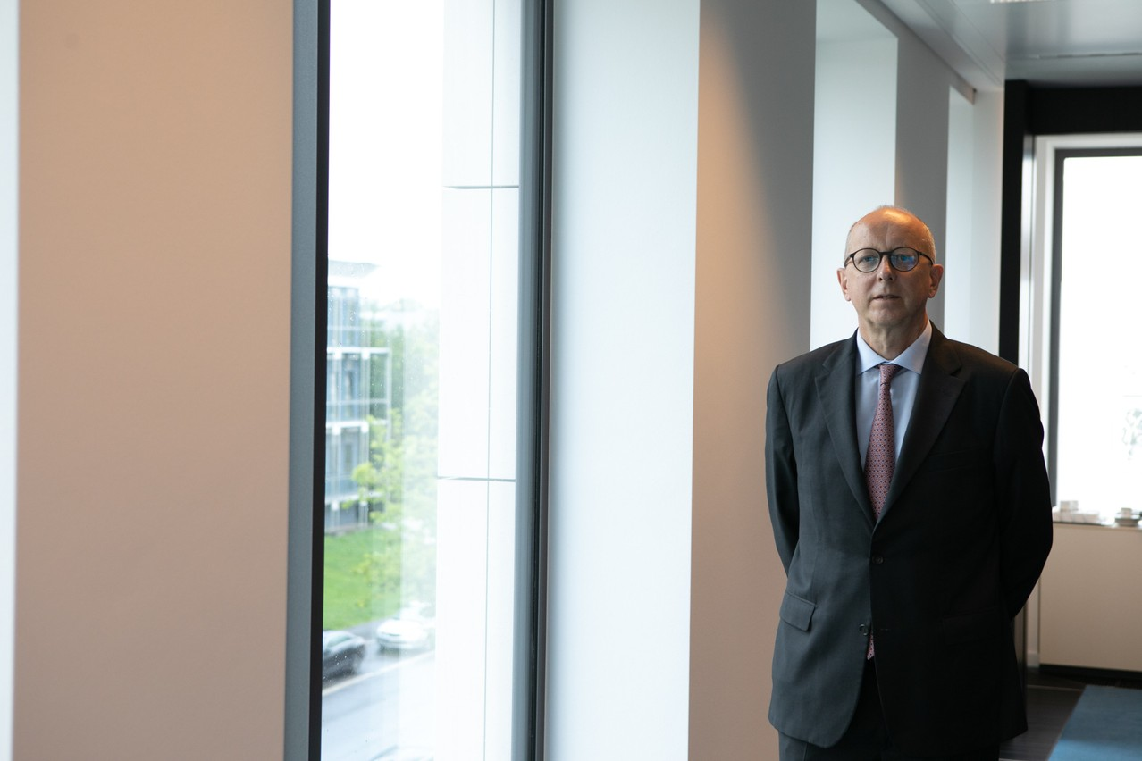 The pandemic has created an increased need for advice among private bankers' clients, which François Pauly intends to capitalise on Matic Zorman/Maison Moderne