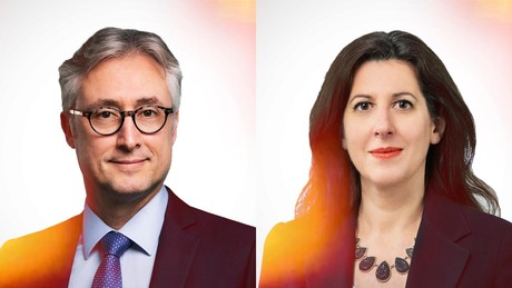 Luc Courtois, Partner, Head of Investment Funds and Yoanna Stefanova, Partner, Investment Funds at  NautaDutilh Avocats Luxembourg (Crédit: Maison Moderne)