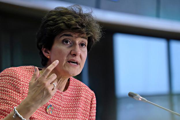 La candidature de Sylvie Goulard a été entachée par deux affaires gênantes: les emplois fictifs du Modem et sa rémunération par l'Institut Berggruen. (Photo: Shutterstyock)
