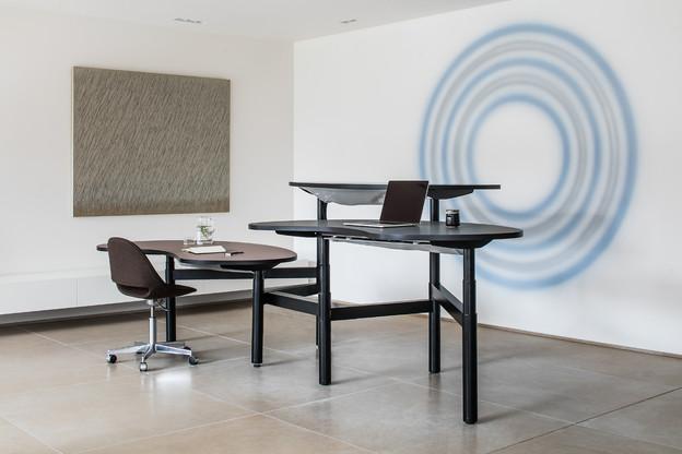 La collection de tables «Senses» est conçue par l'architecte d'intérieur Nathalie Van Reeth. (Photo: Bulo)