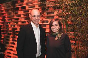 Thierry Raizer et Céline Coubray (Maison Moderne) ((Photo: Romain Gamba, Maison Moderne))