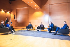 Table Ronde: Luxembourg Recovery - 14.01.2021 ((Photo: Julian Pierrot / Maison Moderne))