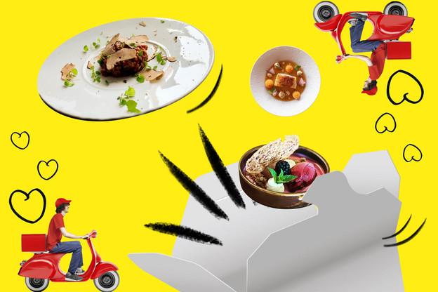 Livraison et/ou take-away: les restaurateurs luxembourgeois adaptent autant que possible leur activité une seconde fois en 2020… (Design: Maison Moderne)