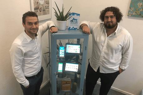 Gianluca Marinelli et  Alessio Weber , les deux fondateurs de Sovi Solutions . (Photo: Sovi Solutions)