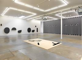 Vue de l'exposition Mezzo Forte de Tania Mouraud à la galerie Ceysson & Bénétière. (Photo: Rémi Villaggi)