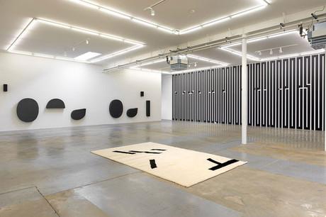 Vue de l'exposition «Mezzo Forte» de Tania Mouraud à la galerie Ceysson & Bénétière. (Photo: Rémi Villaggi)