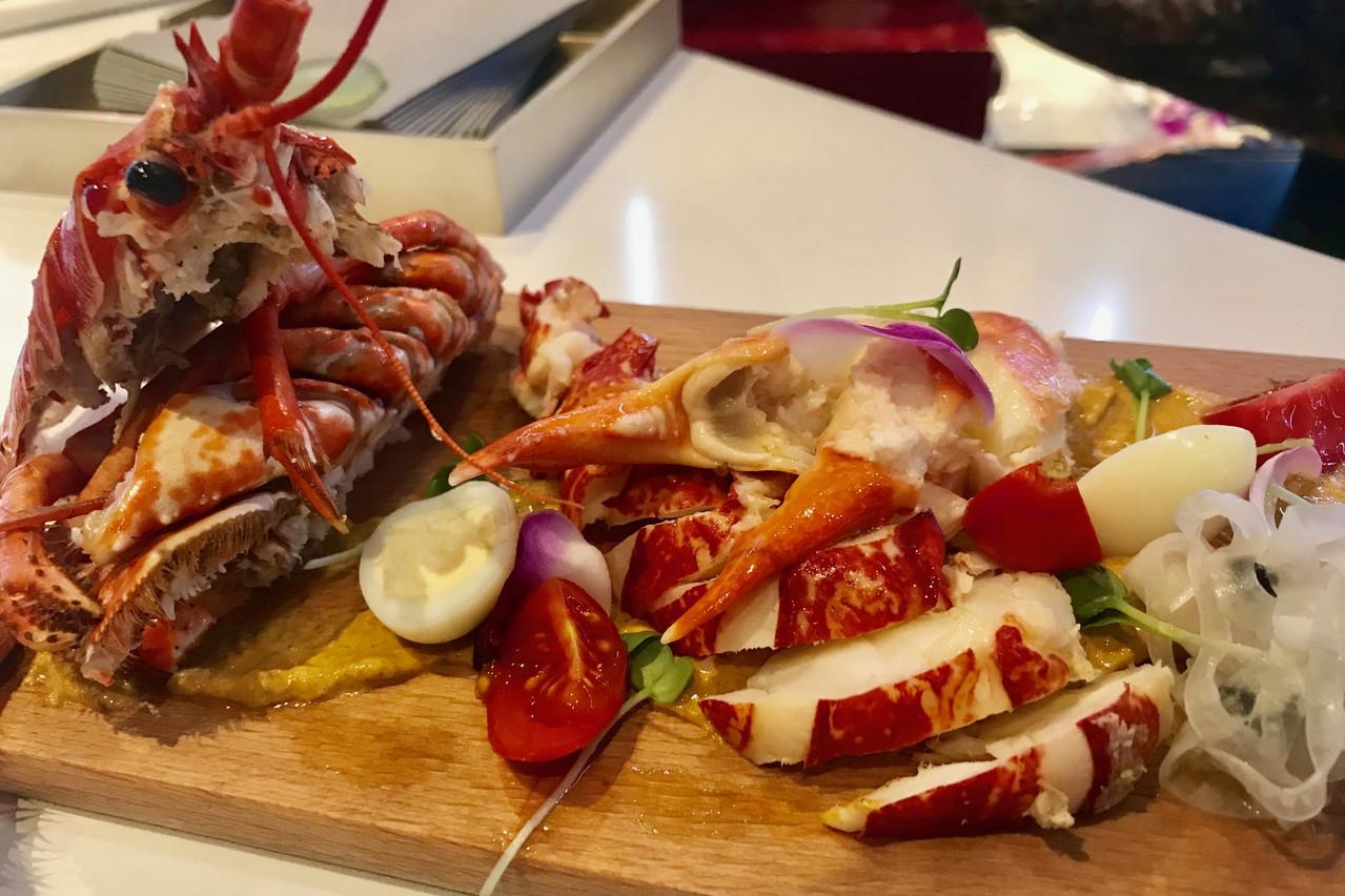 Du homard à l'apéritif? C'est un grand oui! (Photo: Maison Moderne)
