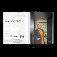 Interview avec TatianaFabeck, fondatrice de Fabeck Architectes. ((Photo: Andrés Lejona/Maison Moderne))