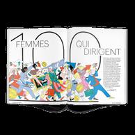 100 femmes qui dirigent au Luxembourg, de directrice à CEO ou fondatrice, découvrez 100profils de femmes inspirantes. ((Illustration: SamPeet))