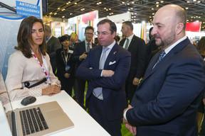 Tout comme au salon de l'auto, le salon Arab Health est l'occasion de mettre en avant des technologies nouvelles et des prototypes. ((Photo: SIP))