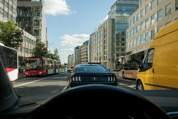 En 2020, les automobilistes ont perdu 105 heures dans les bouchons au Luxembourg. (Photo: Matic Zorman/Maison Moderne)