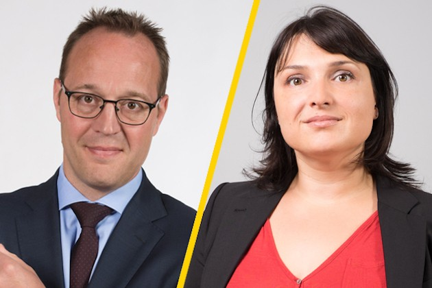 Christian Schlesser & Sylvie Leick, Tax Partners. EY Luxembourg