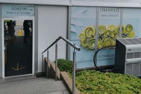 À la Cloche d'Or, Oberweis a dressé un «pop-up store» éphémère sur son parking, le temps de terminer les travaux qui laisseront bientôt place à «un nouveau concept». ((Photo: Oberweis))