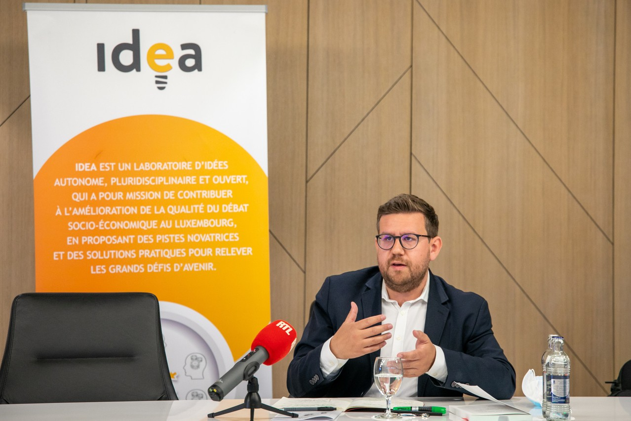 Malgré des effets économiques néfastes s'il se généralise, le télétravail permettrait d'augmenter l'attractivité du Luxembourg, selon Vincent Hein. (Photo: Matic Zorman/Maison Moderne)