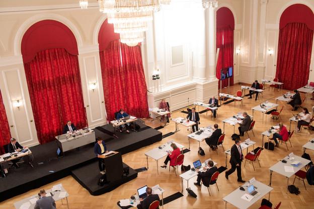 Une sous-commission dédiée au télétravail pourrait voir le jour à la Chambre. (Photo: Matic Zorman / Maison Moderne)
