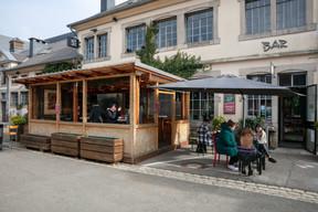 La tonnelle chauffée du Ratelach, à la Kulturfabrik d'Esch-sur-Alzette. ((Photo: Romain Gamba/Maison Moderne))