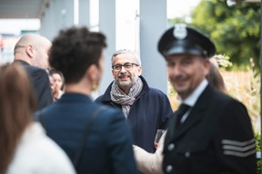 Mike Koedinger, founder and chairman of Maison Moderne, the company that publishes Delano, is seen during Delano's 10th anniversary party, 13 July 2021. Simon Verjus/Maison Moderne
