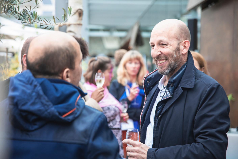 Arnaud Leballeur is seen at Delano's 10th anniversary party, 13 July 2021. Simon Verjus/Maison Moderne