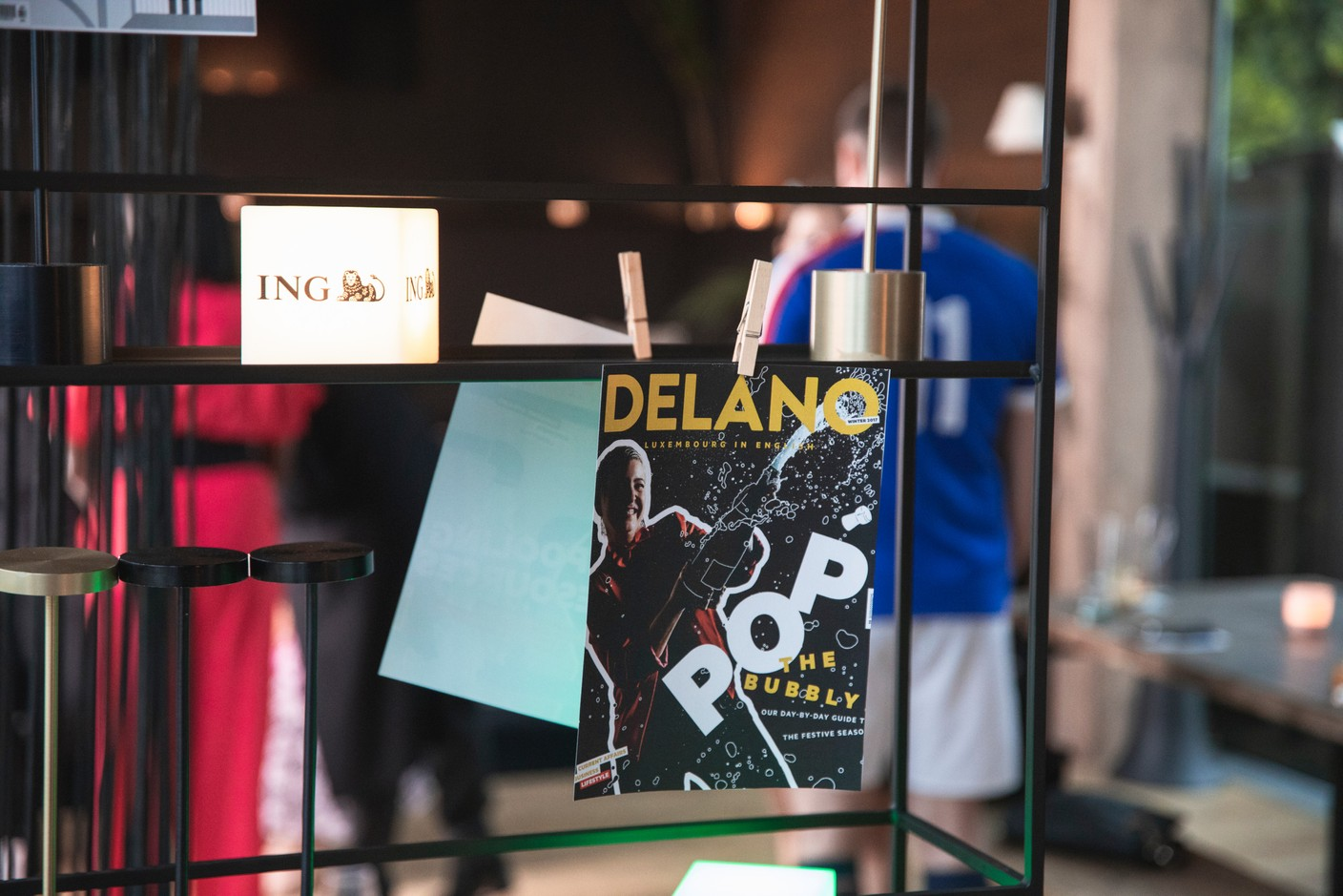 Covers from the previous 10 years of Delano magazine. Simon Verjus/Maison Moderne