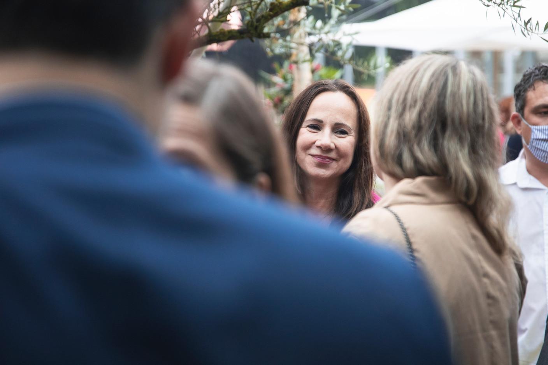 Marta Vacca-Vesela at Delano's 10th anniversary party, 13 July 2021. Simon Verjus/Maison Moderne