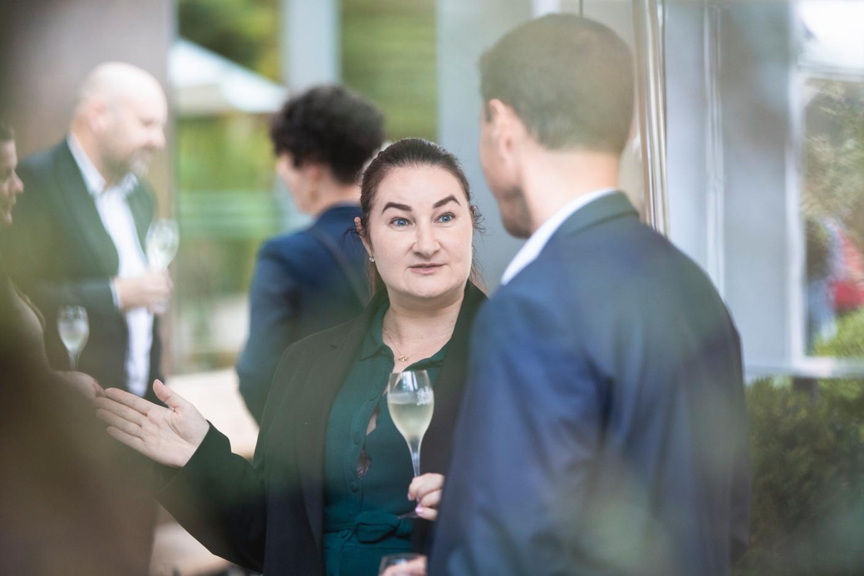 Joanne Ferris  of  Alter Domus , seen during Delano's 10th anniversary party, 13 July 2021. Simon Verjus/Maison Moderne