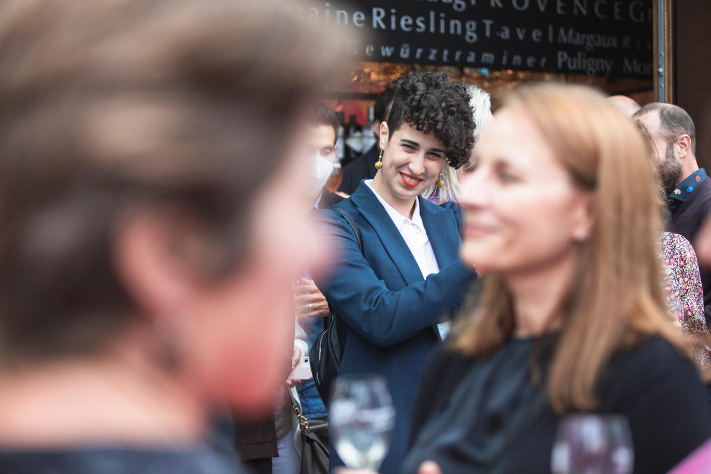 Andreia Nuno at Delano's 10th anniversary party, 13 July 2021. Simon Verjus/Maison Moderne