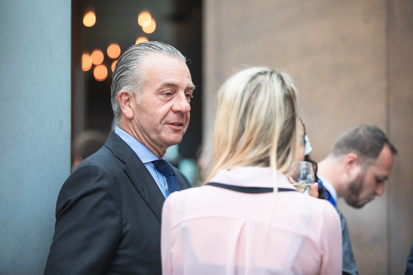Bob Kneip of Kneip is pictured at Delano's 10th anniversary party, 13 July 2021. Simon Verjus/Maison Moderne