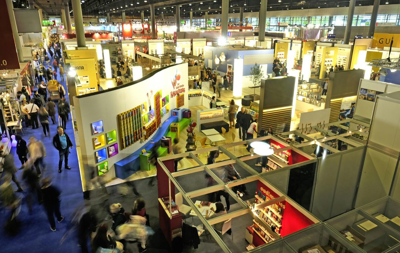 Over 300,000 people visited the Frankfurt Book Fair in 2019. Photo: Alexander Heimann / Frankfurter Buchmesse