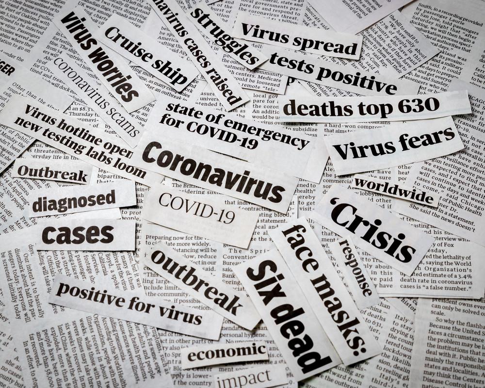 La tendance baissière se poursuit dans les conversations en rapport avec le coronavirus. (Photo: Shutterstock)