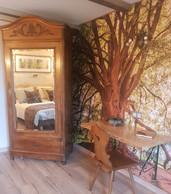 La chambre «Fangorn, domaine des Ents». ((Photo: La Terre du Milieu))
