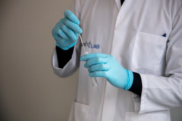 Les tests PCR pour motif de voyage représentent 80% du volume d'activité Covid-19 du laboratoire Bionext Lab, selon son directeur et fondateur. (Photo: Maison Moderne/Romain Gamba)